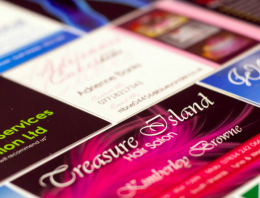 Design business cards and stationary for your company