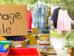 Tips for a successful garage sale