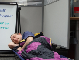 Why it's good to take a nap at work.