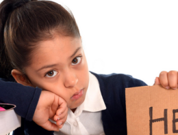 Signs that your child is burned out and stressed